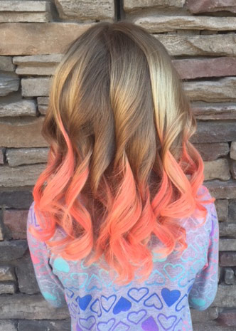 fantasy color hair extensions