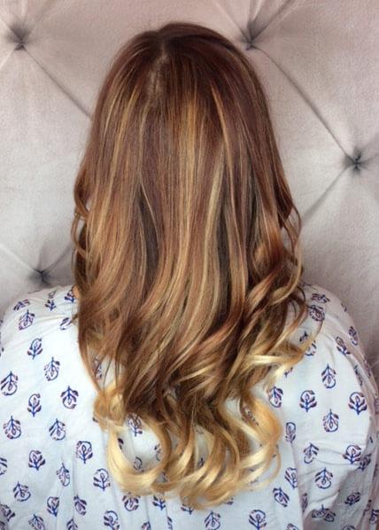 salon hair extensions